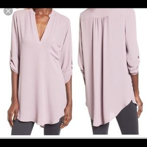 NWOT. Lush perfect rolled sleeve tunic - Nordstrom